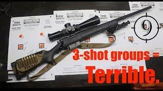 3-shot groups vs. 9-shot groups