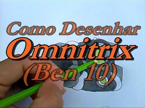 Como Desenhar Omnitrix (Ben 10)