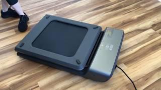 Review of Walkingpad A1 compact treadmill (cousin of the Walkingpad R1 Pro)