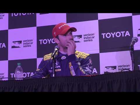 2018 IndyCar Long Beach GP Post-Race Q&A - 2