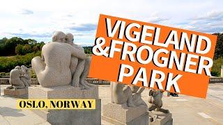 The Vigeland Park, Norway