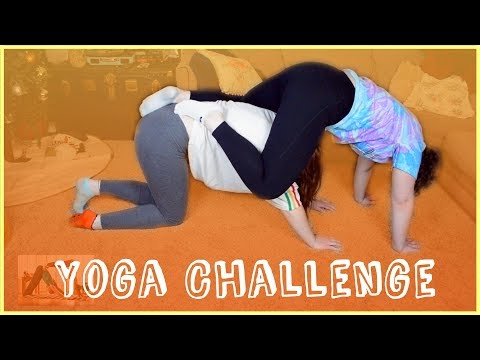 Our First Time Exercising| YOGA CHALLENGE