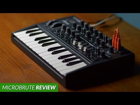 Arturia MicroBrute Review (Analog Synthesizer)