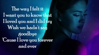 FOREVER LYRICS- JULIE ANNE SAN JOSE