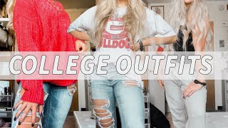 What I ACTUALLY Wear To College Classes (college Outfit Ideas)