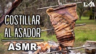 ASMR Costillar Entero Al Asador | Receta De Locos X El Asado
