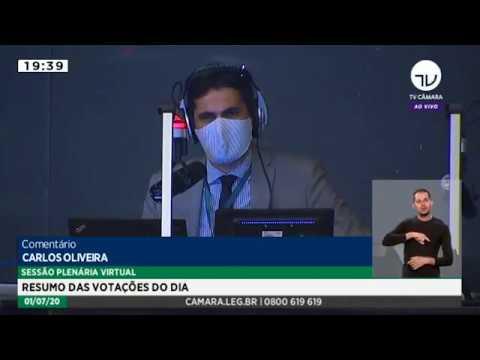 Câmara aprova PEC que adia eleições municipais para novembro - 01/07/20