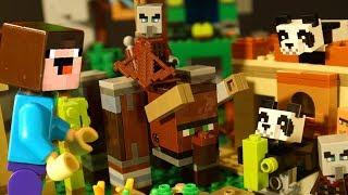 НУБик и LEGO Minecraft 2020 - Лего Мультики Майнкрафт