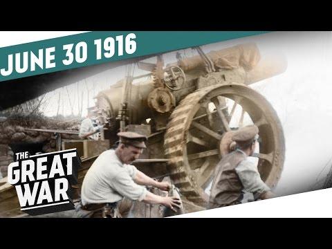 Britské dělostřelectvo na Sommě