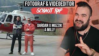 DARDAN X MOZZIK ~ A MILLY  FOTOGRAF & VIDEOEDITOR SCHAUT RAP  LIVE REACTION