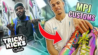 I Made 1/1 UNICORN Customs For Michael Porter Jr...And Then Hooped Vs Him!!