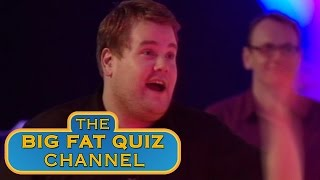 James Corden and Jimmy Carr Argue over Sex and the City - The Big Fat Quiz of the Year 2008