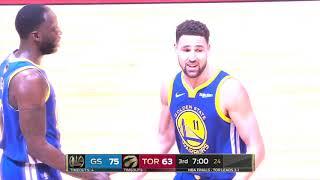 Golden State Warriors vs Toronto Raptors | June 10, 2019