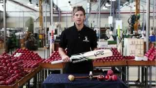 Tim Paine's Kookaburra Cricket Bat 'Knocking In' Tutorial
