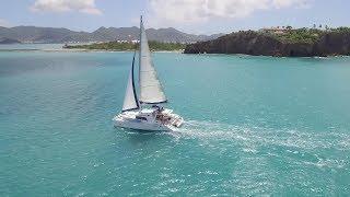 "Don Clayton ""Sailing a Lagoon 440 in St Martin, Caribbean"""