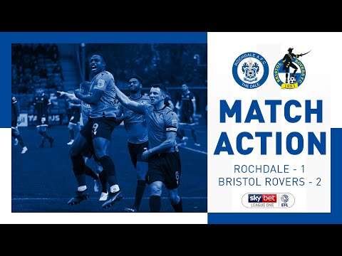 Match Action: Rochdale 1-2 Bristol Rovers