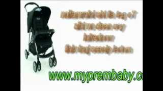 Ideal For Small or Premature Babies - The Graco Mirage Travel System