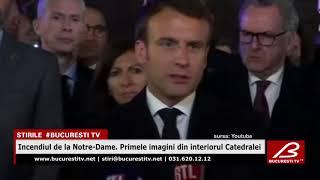 Incendiul De La Notre-Dame. Primele Imagini Din Interiorul Catedralei