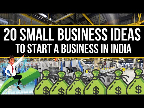 Best top 20 small business in india