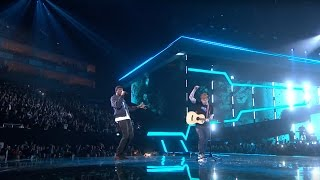Ed Sheeran – Castle On The Hill & Shape Of You Feat Stormzy Live From The Brit Awards 2017
