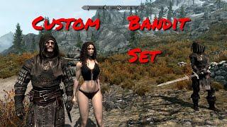 Бандитский сет TES V Skyrim (легкий доспех) mod by ChristianLuger