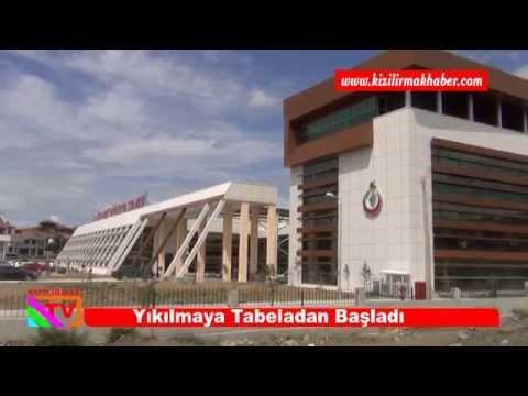 Osmancık Devlet Hastanesi Yıkılmaya Tabeladan Başladı