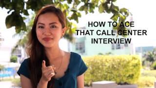 Tips on Call Center Job Interviews