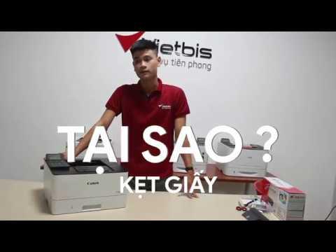 Tại sao máy in bị kẹt giấy? Xử lí giấy kẹt sao cho đúng cách? CANON LBP214DW