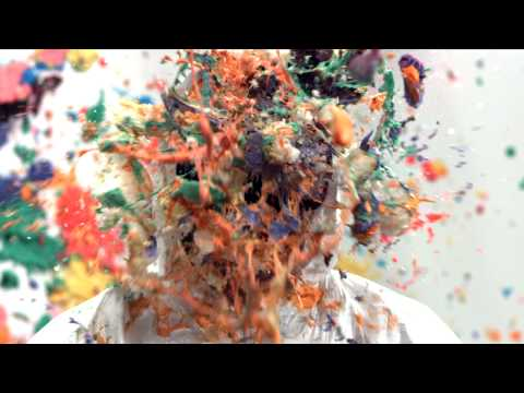People Shot In The Face With Cupcakes In Super Slow Motion
