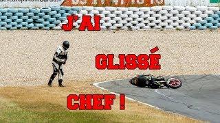 J'ai glissé chef ! ( Croix en ternois - Honda CB 500 )
