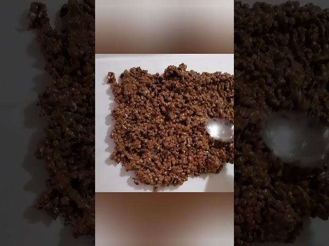 Barrette di Grano Saraceno Soffiato, Zenzero e Cioccolata