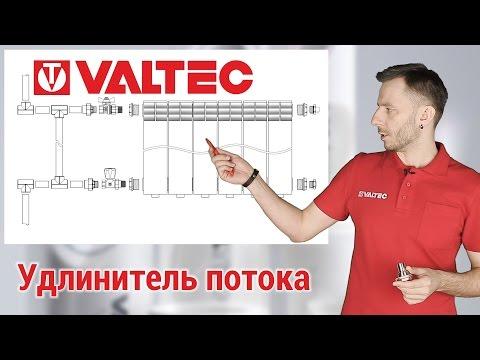 Прнцип действия удлинителя потока для радиаторов