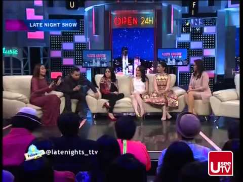 Late Night Show TransTV ~ 26 Januari 2015 ~ Mama Muda Nagita Slavina, Arumi Bachsin, Jill Gladys