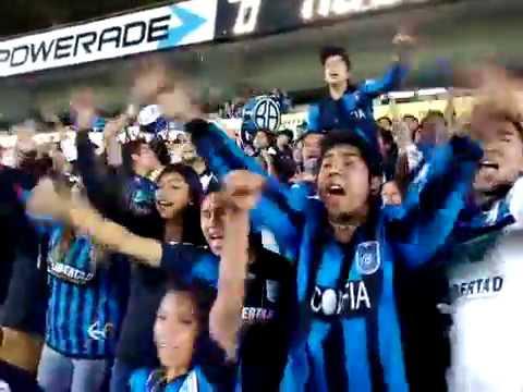 """""""Resistencia albiazul nuevo"""" Barra: La Resistencia Albiazul • Club: Querétaro"""