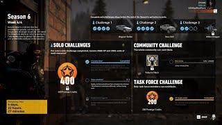 Ghost Recon Wildlands Season 6 Week 4 Solo Challenge 1