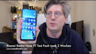 Xiaomi Redmi Note 9T Test Fazit nach 2 Wochen
