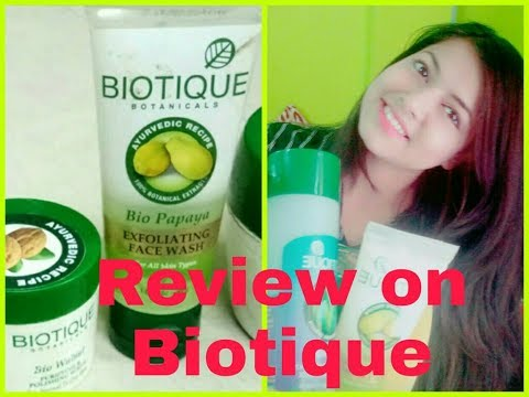 Review on Skin care products