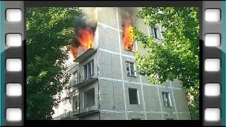 Пожар ул Молодогвардейская 24 к4 Москва 26 05