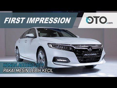 Honda Accord 2019 | First Impression | Pakai Mesin Lebih Kecil | GIIAS 2019 | OTO.com