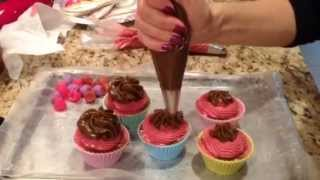 Making Raspberry Mousse Homemade Cupcake Soaps. When It Goes Wrong!