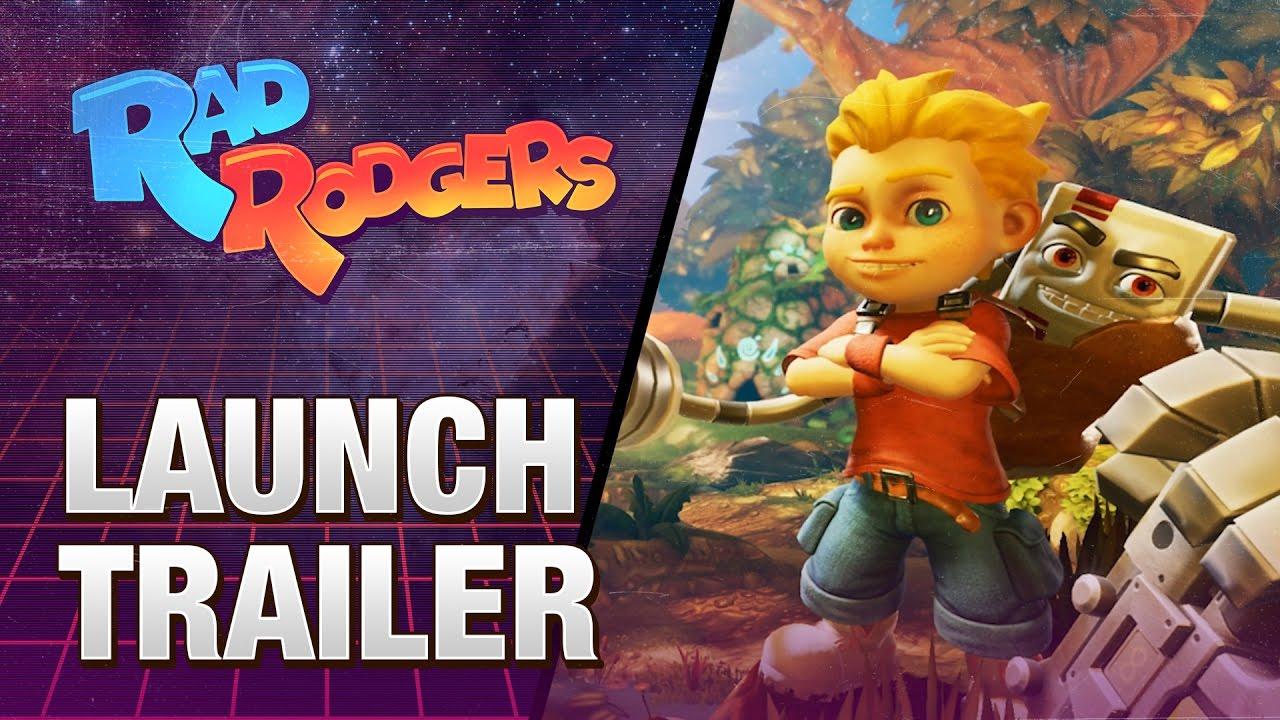 Rad Rodgers - Trailer di lancio