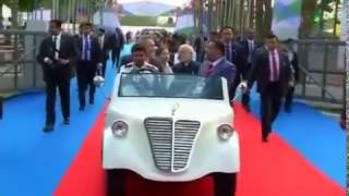 PM Narendra Modi Inaugurated Global Trade Show In Gandhinagar
