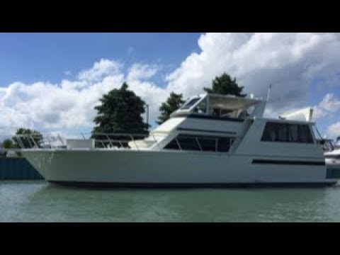 Viking 54 Sports Yacht video