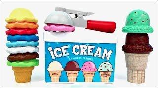 Nat And Essie Teach Kids Using Melissa And Doug Ice Cream Cones