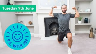 PE With Joe | Tuesday 9th June