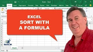"Dueling Excel   ""Sort With A Formula"": Podcast #1308"