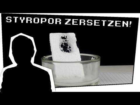 Nagellackentferner zerstört Styropor? (Aceton + Styropor) - Heimexperimente #10 (Mit LetsFail1)