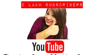Celebrating 2 Lakh Subscribers - Thank you for all the love & Support