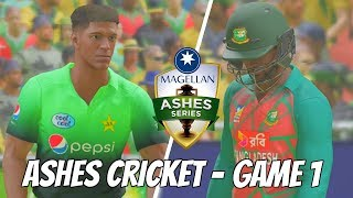 ASHES CRICKET 2017 LAUNCH DAY - PAKISTAN v BANGLADESH (5 over) GAME 1