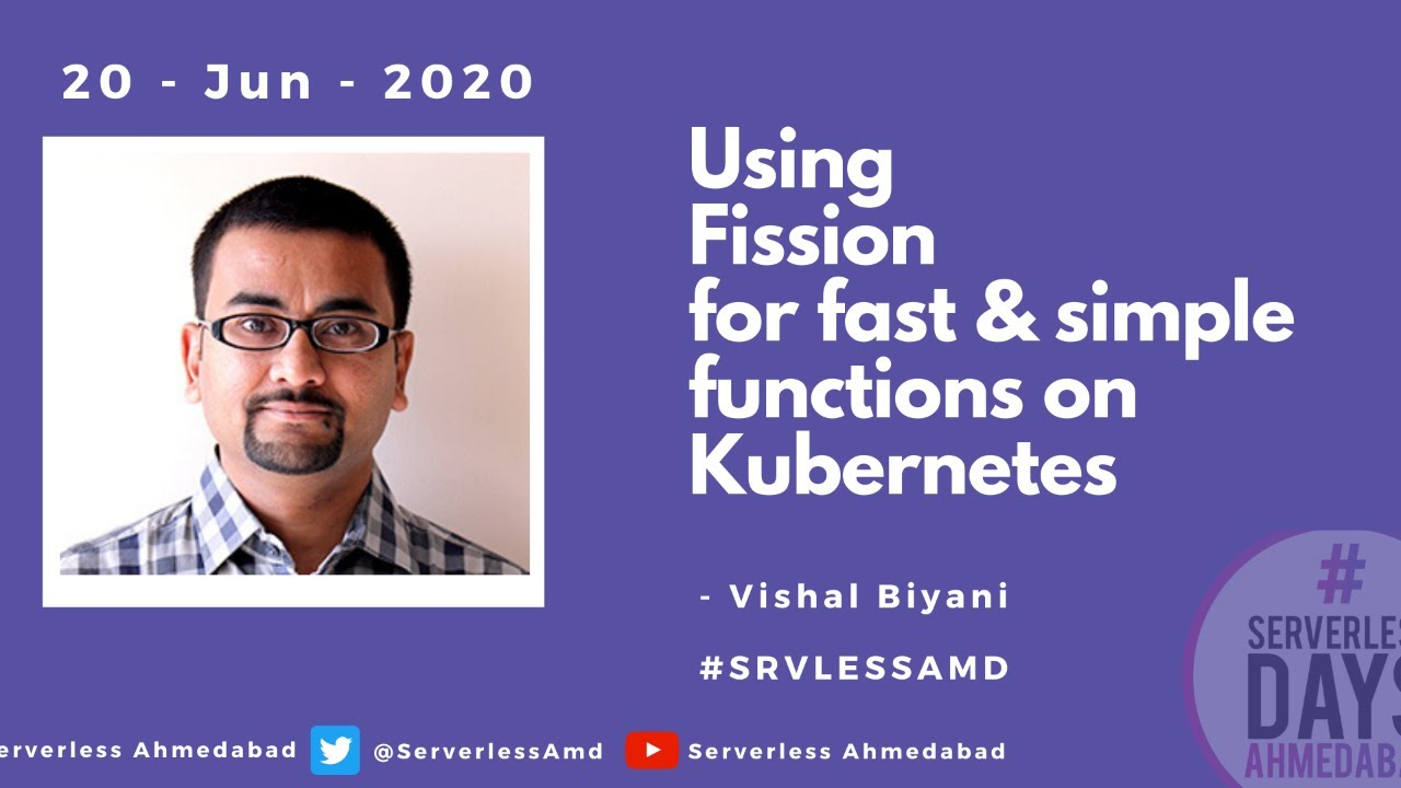 Using Fission for Fast and Simple Functions on Kubernetes